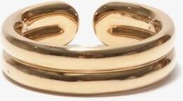 Fernando Jorge Doubled 18kt Gold Ring - Beige Gold