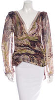 Missoni Pleated Silk Top