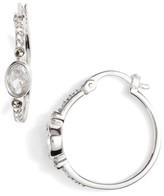 Judith Jack Women's Semiprecious Stone Hoop Earrings