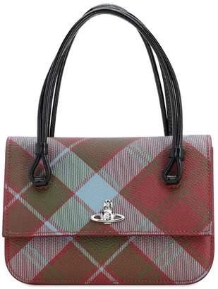 Vivienne Westwood EDINBURGH COATED CANVAS TOP HANDLE BAG