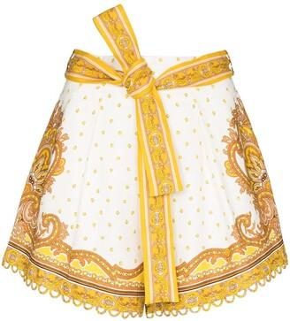 Zimmermann Bells paisley print shorts