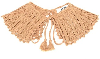 MSGM Knitted Ruff Scarf