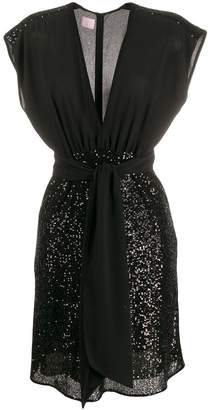 Giamba embellished shift dress