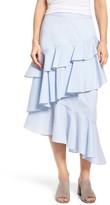 Chelsea28 Women's Ruffle Midi Skirt