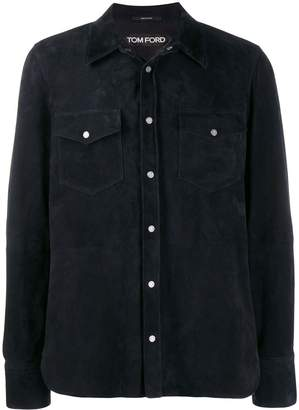 Tom Ford button-up shirt jacket