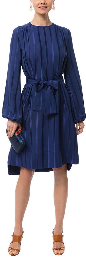 Les Copains Silk-Blend Dress