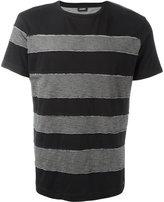 Diesel striped T-shirt - men - Cotton - L