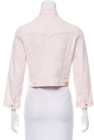 Christian Dior Cropped Denim Jacket