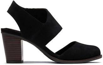 Toms Black Majorca Closed Toe Sandal