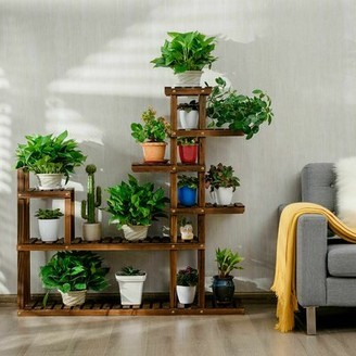 Costway Free Form Multi-Tiered Plant Stand