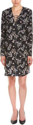 Amanda Uprichard Lace-Up Shift Dress