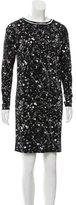 Tory Burch Silk Splatter Print Dress