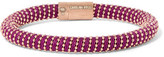 Carolina Bucci Rose Gold-Tone Woven Bracelet