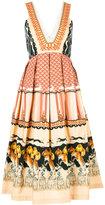 Temperley London Foxglove printed dress - women - Silk/Cotton/Viscose - 8