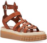 Prada 45mm High Gladiator Sandals