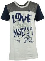 5th & Ocean Girls' San Diego Padres Love Baseball T-Shirt