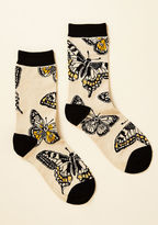 ModCloth Fly Me to the Swoon Socks