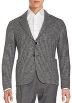 Giorgio Armani Woven Virgin Wool Blend Jacket