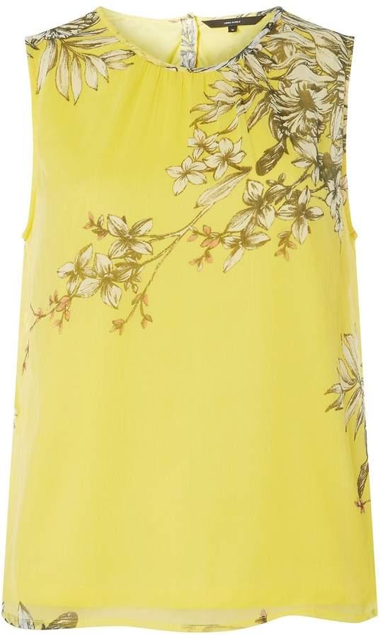 Dorothy Perkins Womens **Vero Moda Yellow Round Neck Top
