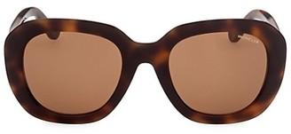 Moncler 54MM Square Sunglasses