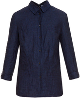 Altuzarra Adams open-back linen shirt
