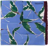 Valentino bird print scarf
