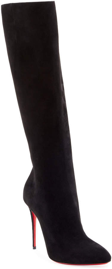 innovative design 642aa de6b2 Eloise Over-The-Knee Red Sole Boots