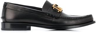 Versace Greca buckle loafers