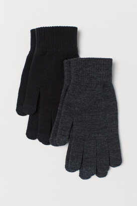 H&M 2-Pack Smartphone Gloves