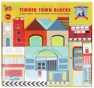 Le Toy Van Wooden Town Blocks