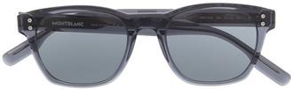 Montblanc Tinted Round Sunglasses