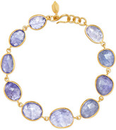 Pippa Small 18-karat Gold Tanzanite Bracelet - one size
