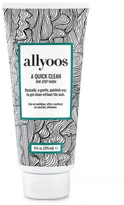 allyoos A Quick Clean One-Step Wash