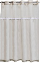 Hookless It's A Snap Fabric Shower Curtain Liner
