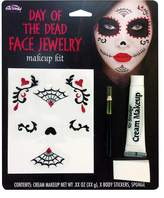 Fun World Costumes Day of the Dead Jewelry Make Up Kit