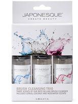 Japonesque Brush Cleansing Trio