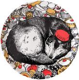 Jimbobart - 'Cake Guard Wolf' Tray