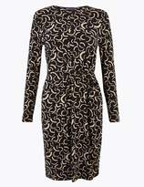 Marks and Spencer Jersey Printed Bodycon Dress