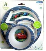 The First Years Disney Cars Break Resistant Bowl & Plate 2 Piece Feeding Set