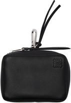 Loewe Black Pocket Charm Keychain