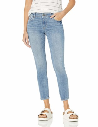 DL1961 Women's Florence Ankle Mid Rise Instasculpt Skinny Fit Jeans
