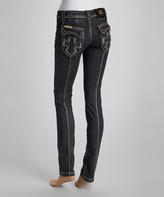 Rebel Spirit Black Skinny Jeans - Women
