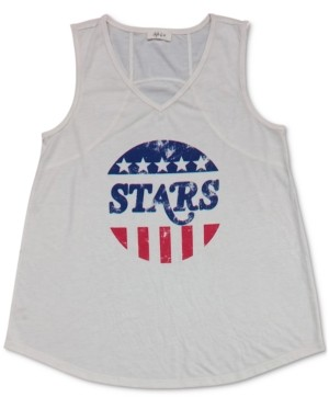 Style&Co. Style & Co Petite Stars & Stripes Top, Created for Macy's