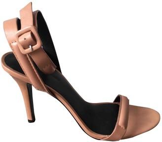 Alexander Wang Beige Leather Sandals