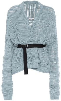 Brunello Cucinelli Exclusive to Mytheresa Belted cotton cardigan
