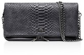 Zadig & Voltaire Rock Snakeskin-Embossed Leather Crossbody