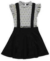 George 2 Piece T-Shirt and Pinafore Dress Set