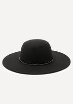 Bebe Studded Band Floppy Hat