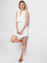 Gap Sleeveless eyelet shirtdress