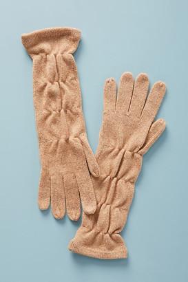 Anthropologie Desmonda Long Gloves By in Beige
